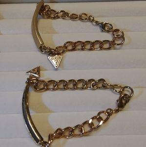Guess ID Bracelets